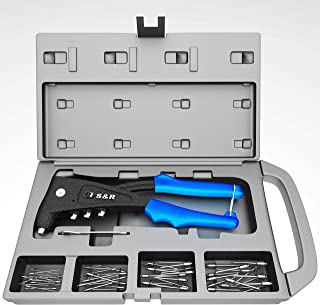 Remachadora Profesional con 60 remaches (2.4 mm, 3.0 / 3.2