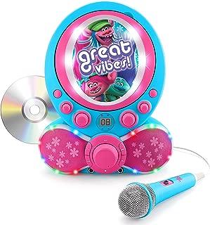 Trolls CDG Karaoke Machine CD Player with Microphone