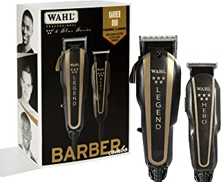 Wahl Professional 5-Star Barber Combo #8180 Features a New Look 5-Star Legend Clipper and Hero T-Blade Trimmer