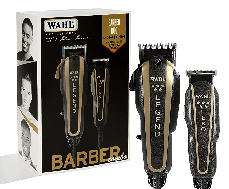 会話交通渋滞がんばり続けるWAHL Professional 5 Star Series Barber Combo No. 8180