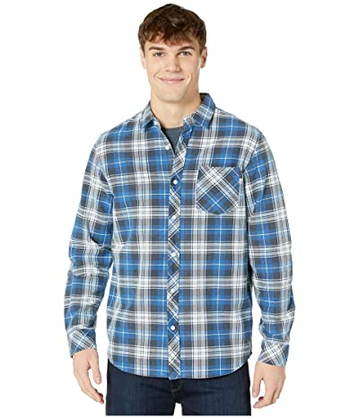 Rip Curl Scout Long Sleeve Flannel (Blue) Men