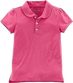 OshKosh B'Gosh Girls' Short Sleeve Uniform Polo