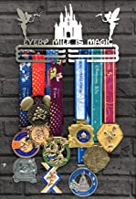 The Runners Wall Every Mile is Magic Medal Display
