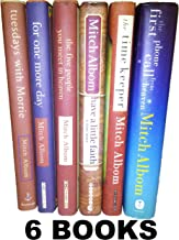 Mitch Albom's 6 Book Set (Tuesdays with Morrie, Have a Little Faith, for One More Day, Five People You Meet in Heaven, Tim...