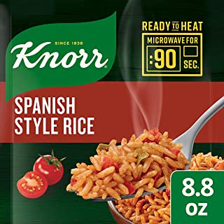 Knorr Ready to Heat Core, Spanish Rice, Pack of 8