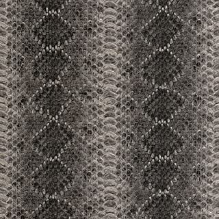 473803 - African Queen II Snake Skin Black Grey & Silver Galerie Wallpaper