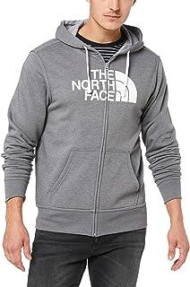 The North Face Men's M Half Dome FZ Hood TNF Medium Grey Heather/TNF White