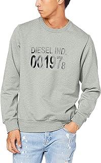 Diesel Men's S-girk J3 Sweat Shirt Grey