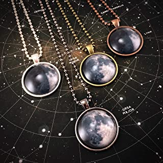 moon personalised necklace