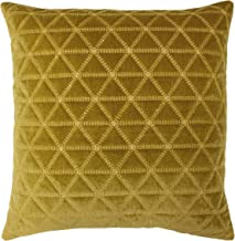Riva Home Imani Polyester Filled Cushion, Gold, 55 x 55cm