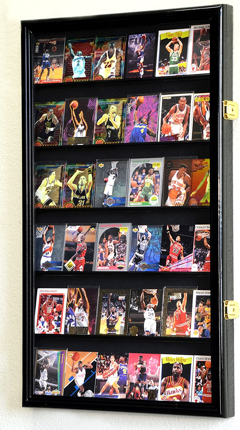 36 Sport Cards Nashville-Davidson Mall Collectible Manufacturer regenerated product Card Cabinet Display Case Wall Holder