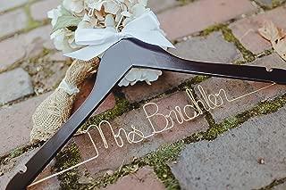 custom wedding hangers