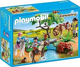 comprar comparacion PLAYMOBIL Granja de Ponis - Paseo de Ponis en el Campo (6947), Multicolor