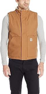 Men's Flame-Resistant Mock-Neck Sherpa-Lined Vest