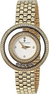 Christian Van Sant Women's Gracieuse Quartz Watch with Stainless-Steel Strap, Gold, 13 (Model: CV4831)