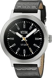 ساعة فيستال لكلا الجنسين SLR3L002 ذا ريتروفوكاس انالوج ديسبلاي كوارتز - اسود