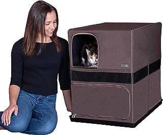 """منزل قطط من بيت جير، ضعي حداً للنفايات المتبعثرة، لا تتضمن الصندوق Space Saver - 26.5""""L x 19.5""""W X 26.5""""H PG4619ESC"""