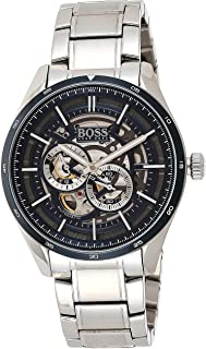 Hugo Boss Mens Quartz Watch, Chronograph Display and Stainless Steel Strap 1513749