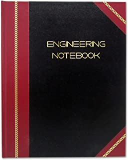 BookFactory Professional Engineering Notebook - 96 Pages (Quad Ruled - .25