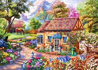 """1000 Piece Adult Puzzles, Home Sweet Landscape Style 27.6""""x 19.7"""" Jigsaw Puzzles for Adults Kids, Puzzles 1000 Piece Game ..."""