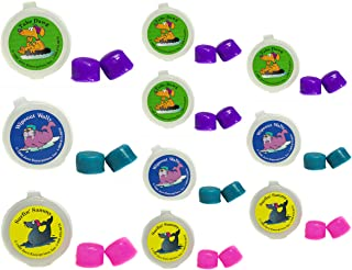 Putty Buddies Ear Plugs 10-Pair Pack - Soft Silicone Ear Plugs for Swimming & Bathing - Invented by ENT Physician - Block Water - Premium Swimming Earplugs - Doctor Recommended