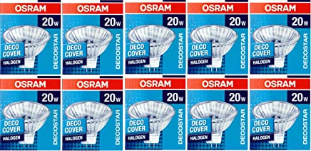 10 Stück Halogenstrahler OSRAM Decostar 51S 12V 20W 36° GU 5,3