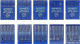 SCHMETZ 50pcs Size 18 20 21 23 24 135x17 DPx17 Walking Foot Sewing Machine Needle
