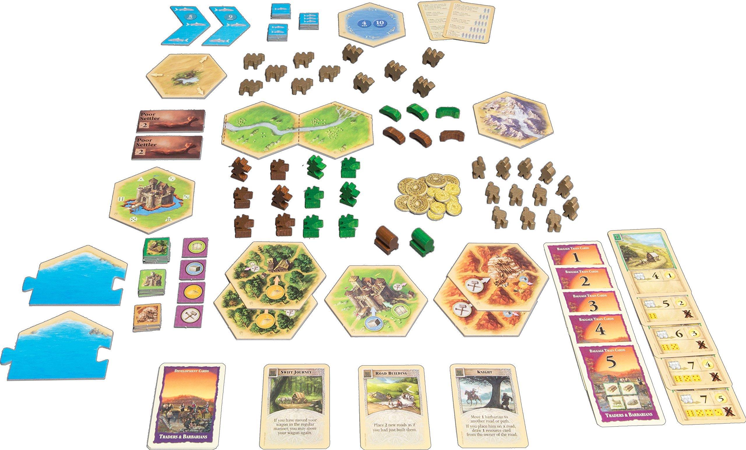 Mayfair Catan: Traders and Barbarians 5-6 Player Extension: Amazon.es: Juguetes y juegos