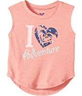 Roxy Kids - Heart Adventure Muscle Tee (Toddler/Little Kids/Big Kids)