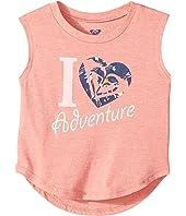 Roxy Kids - Heart Adventure Muscle Tee (Toddler/Little Kids/Big Kids)