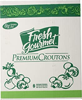 Fresh Gourmet Premium Croutons, Seasoned, 10 Pound