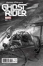 Ghost Rider 1 Robbie Reyes Dell'Otto Black White Sketch Variant