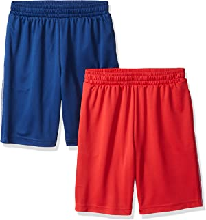 Amazon Essentials Boys Active Performance Mesh Basketball Shorts