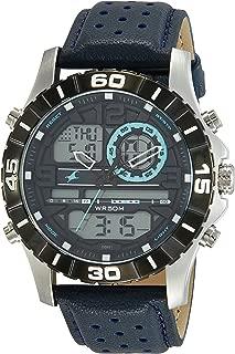 Fastrack Analog-Digital Blue Dial Men's Watch-38035SL02