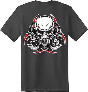 Gas Mask Short Sleeve T-Shirt - Charcoal