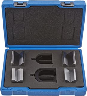 Fowler Full Warranty 52-475-500-0 Hardened Steel X-Blox V-Block Set, 1.5