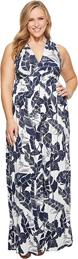 Plus Size Morning Dress White Label