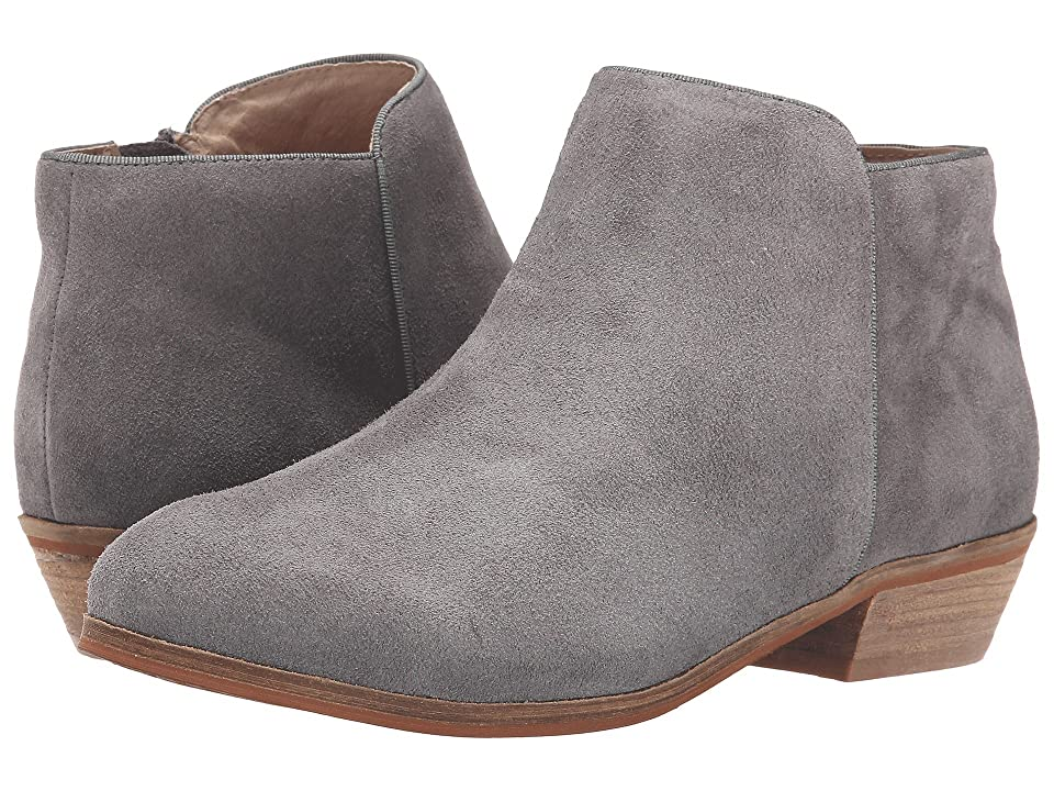 SoftWalk Rocklin (Graphite Suede Leather) Women