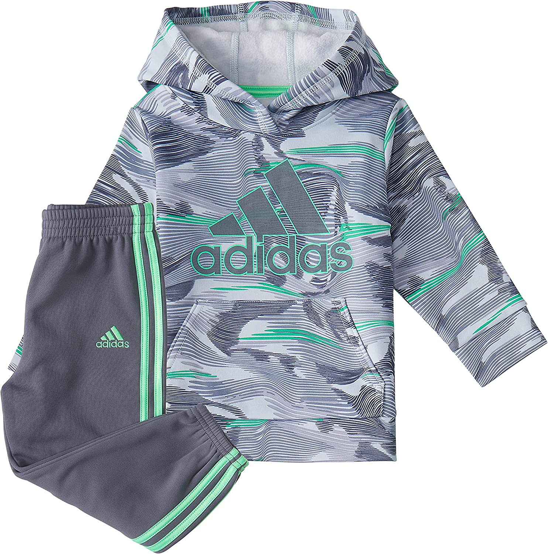 adidas Latest Mesa Mall item baby-boys Camo Fleece Pullover Hoodie Set and Joggers