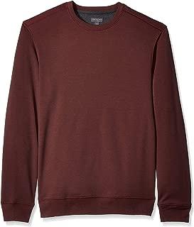 Men's Long Sleeve Flex Fleece Blocked Crewneck Pullover