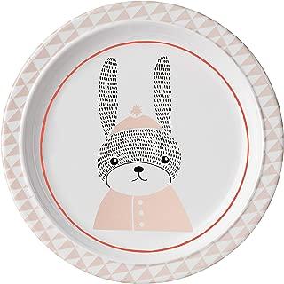 Bloomingville Melamine Sophia Plate with Bunny, Multicolor