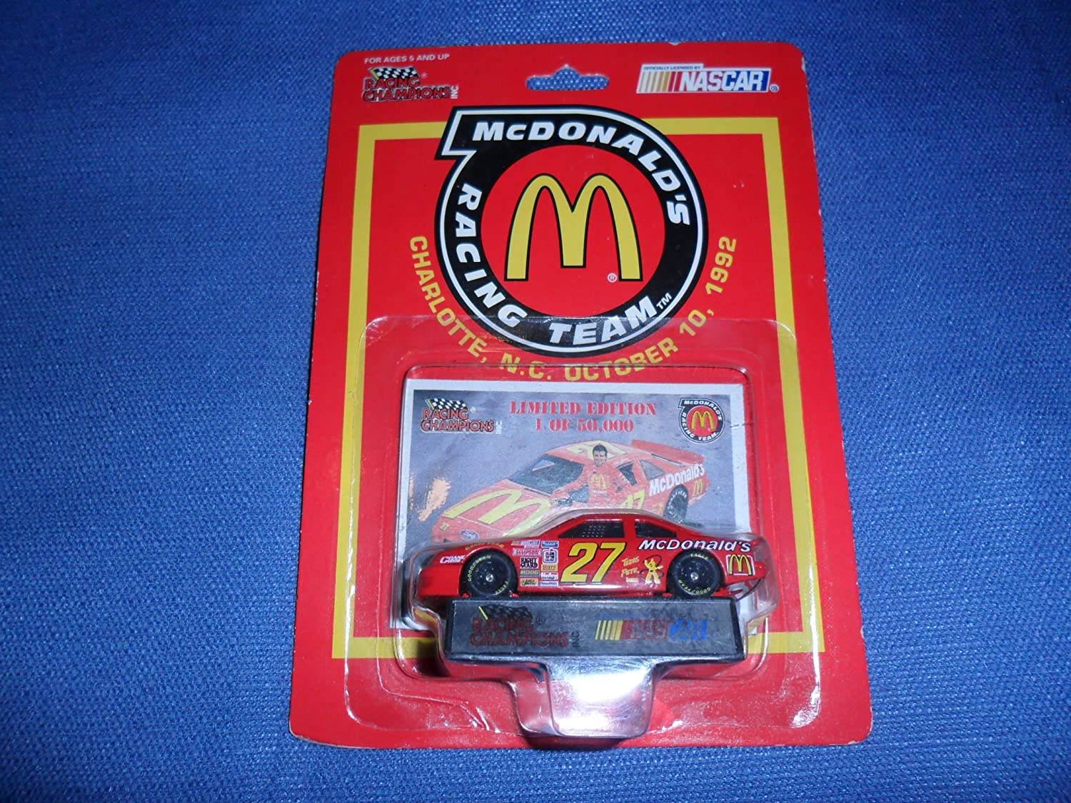 NUT Stricklin  27 1 64 Diecast Car by Nascar by Nascar