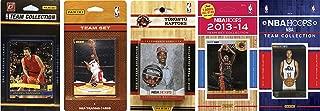 NBA 多伦多猛虎队 5 种不同的*收藏卡队套装,棕色,均码