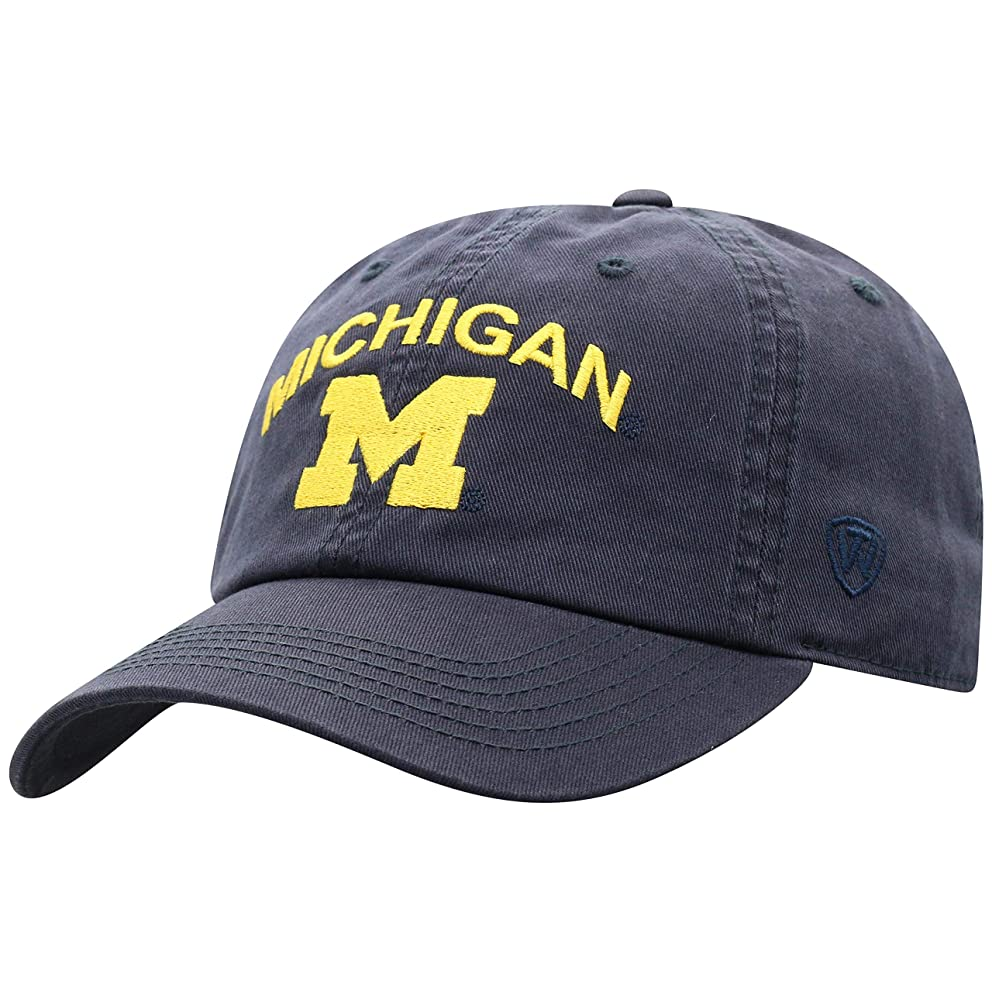 Top of the World NCAA Men's Hat Adjustable Relaxed Fit Team Arch