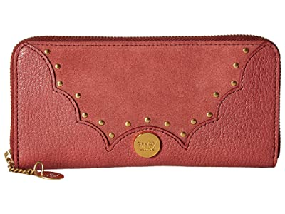See by Chloe Nick Continental Wallet (Rusty Pink) Wallet Handbags