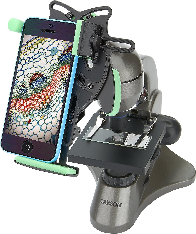 Super sale period limited Carson Beginner 40x-400x Compound with Student Fresno Mall Univer Microscope