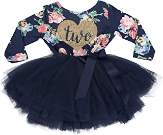 floral first birthday outfit