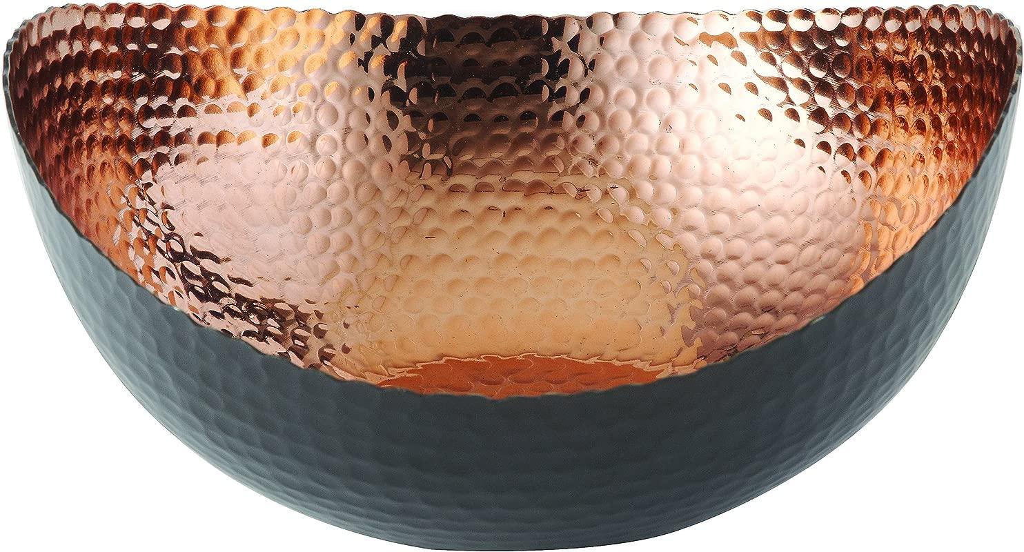 Elegance 72071 Eclipse Bowl 10 X 9 75 Black Copper
