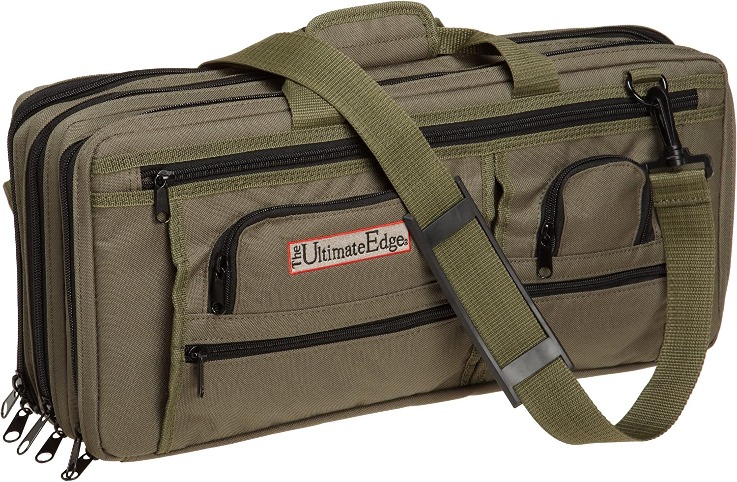 The Ultimate Edge 2001-EDOL Max 82% OFF Deluxe Olive Case Alternative dealer Chef Knife