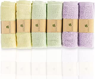 Bamboo Organics Best 100% Viscone from Bamboo Baby Washcloths Soft Baby Wipes